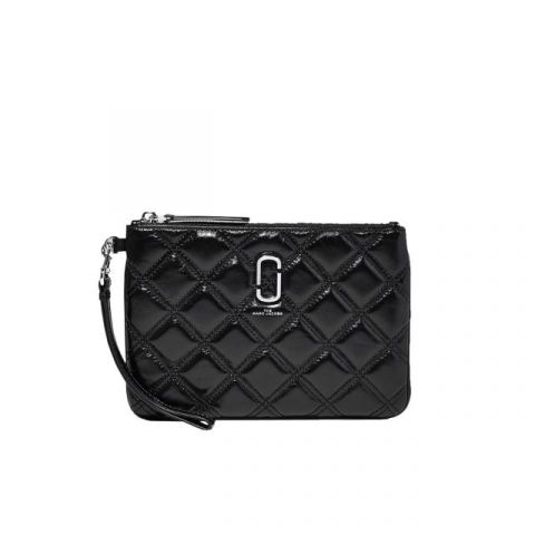 Marc Jacobs Quilted Softshot Wristlet