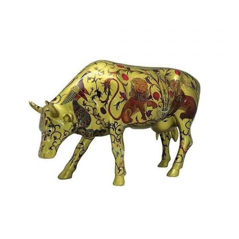 Cow Parade The Golden Byzantine
