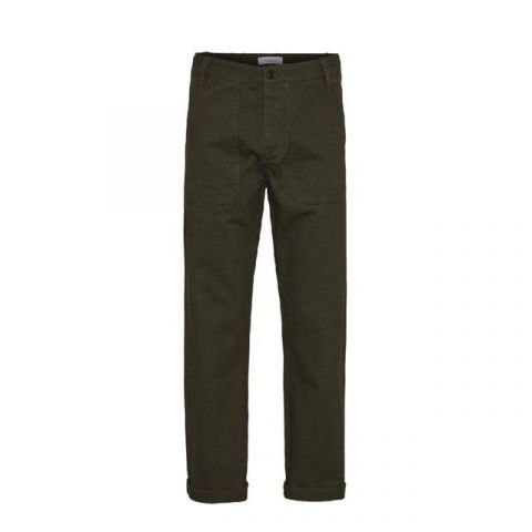 Knowledge Cotton Apparel Loose Heavy Twill Pant