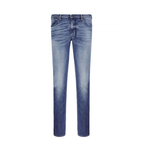 Emporio Armani J06 Worn Wash Denim
