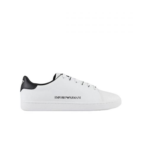 Emporio Armani Leather Sneaker