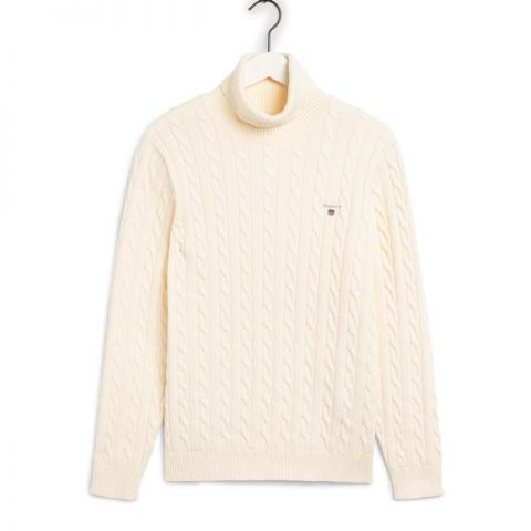 GANT Cable Turtle Neck