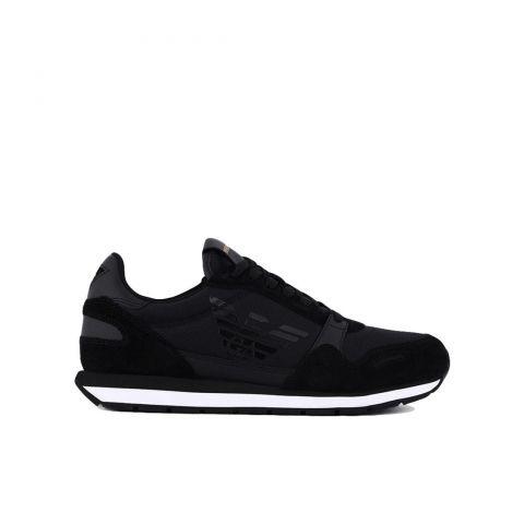 Emporio Armani Suede Sneakers
