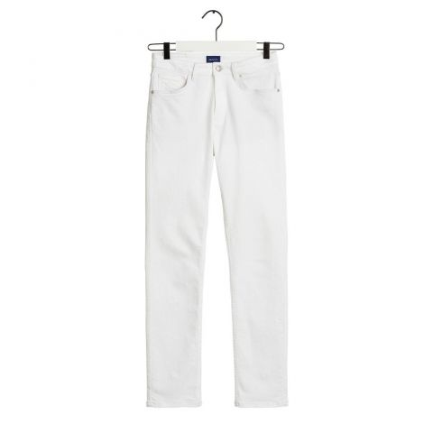 GANT Slim White Denim